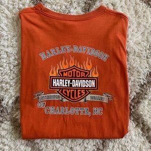 VTG Harley-Davidson Men's Pocket Shirt